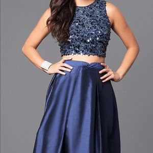 Dresses & Skirts - Brand new 2 piece long prom dress size S.